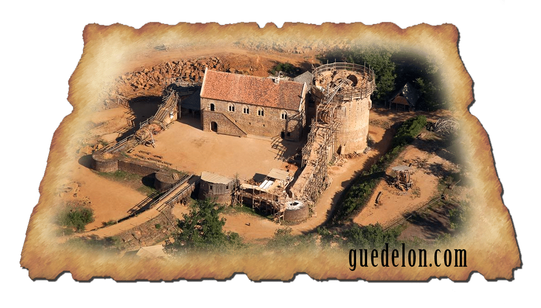 Les avancées du chantier de château Guédelon