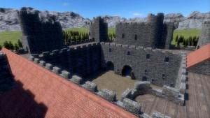 architecture_medievale_chateau_bodiam_video