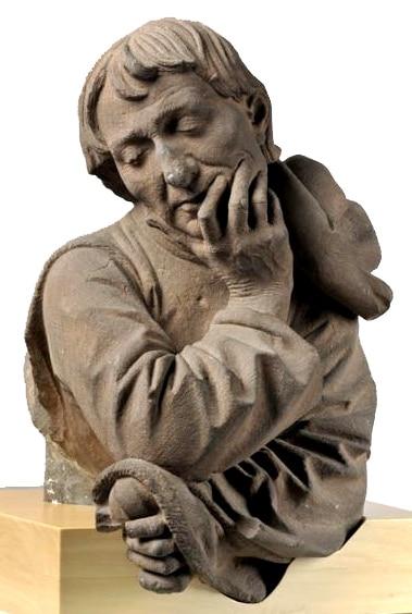 Nicolas de Leyde, buste baroque (XVe siècle)*