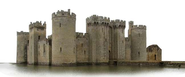 Château fort Bodiam Angleterre
