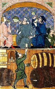 humour_medieval_goliards_taverne_moyen-age_passion