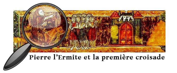 Pierre l'Ermite et les croisés à Jérusalem Roman du Chevalier du Cygne. 3e tiers du XIIIe siècle. BnF