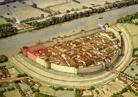 castrum_romain_histoire_medieval_chateau_fort_motte_castrale_viollet_le_duc