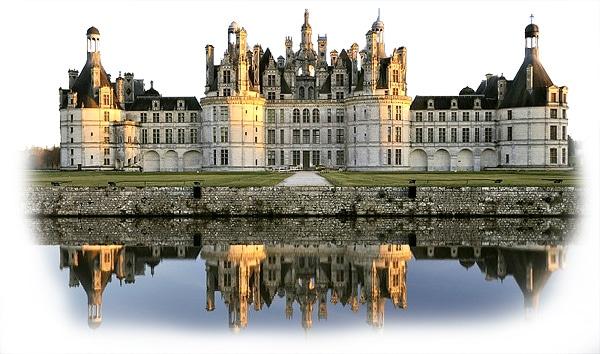 Le château de Chambord dont on a souvent fait le symbole de la fin de l'ère des châteaux-forts
