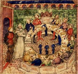 legende_medievale_roi_arthur_chevalier_table_ronde_chretien_troye