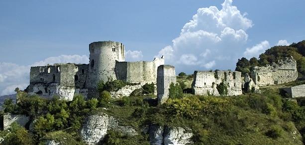 Château-Gaillard, XIIe siècle, le château d'un roi d'Angleterre au coeur de la Normandie