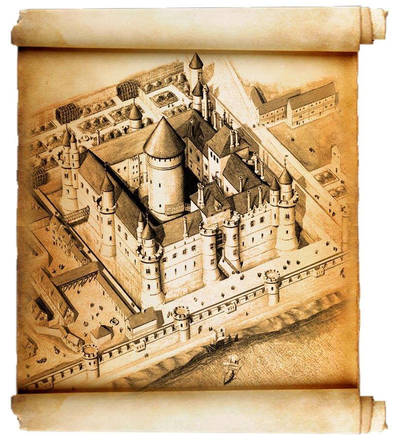 Le Louvre de Philippe Auguste (XIIe, XIIIe siècle), pionnier de l'architecture philippienne