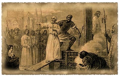 La fin des templiers et l'exécution du dernier grand maître de l'ordre Jacques de Molay