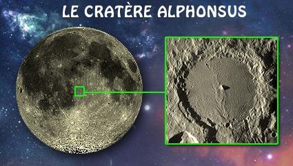 Le cratère lunaire Alphonsus en hommage à un roi savant de Castille
