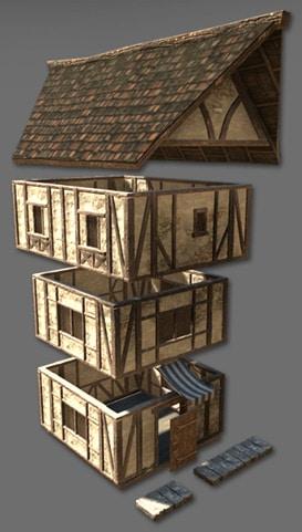 jeu_video_moyen_age_outil_unity_3D_reconstitution_rue_medievale