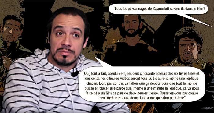 Alexandre Astier, des news de Kaamelott Resistance et Kaamelott trilogie. (Interview l'express)