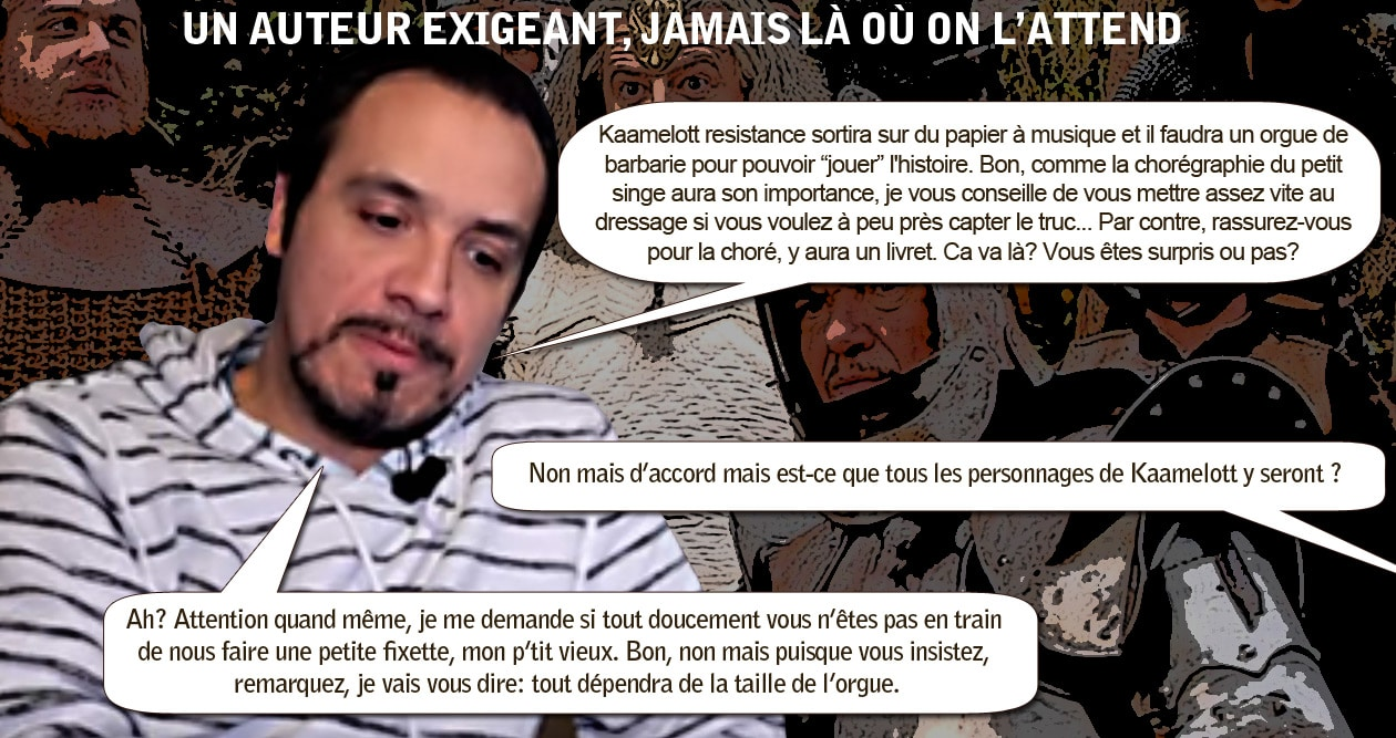 kaamelott_resistance_alexandre_astier_auteur_exigent_interview_express_humour_monde_medieval