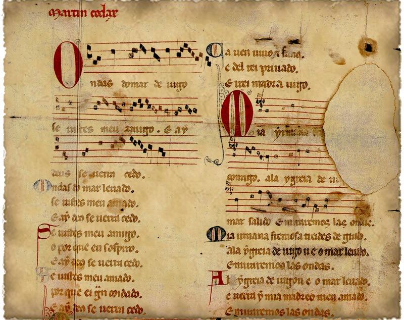 manuscrit_amour_courtois_poesie_musique_medieval_cantiga_de_amigo_-martin_Codax