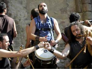 Les troubadours modernes du groupe médiéval Strella do Dia