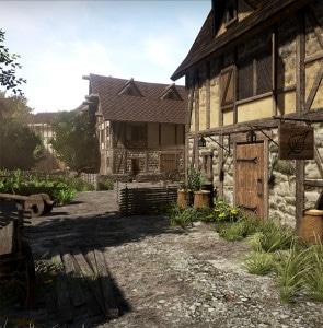 taverne_rue_medievale_infographie_3D_unity_mondes_virtuelles_reconstitution