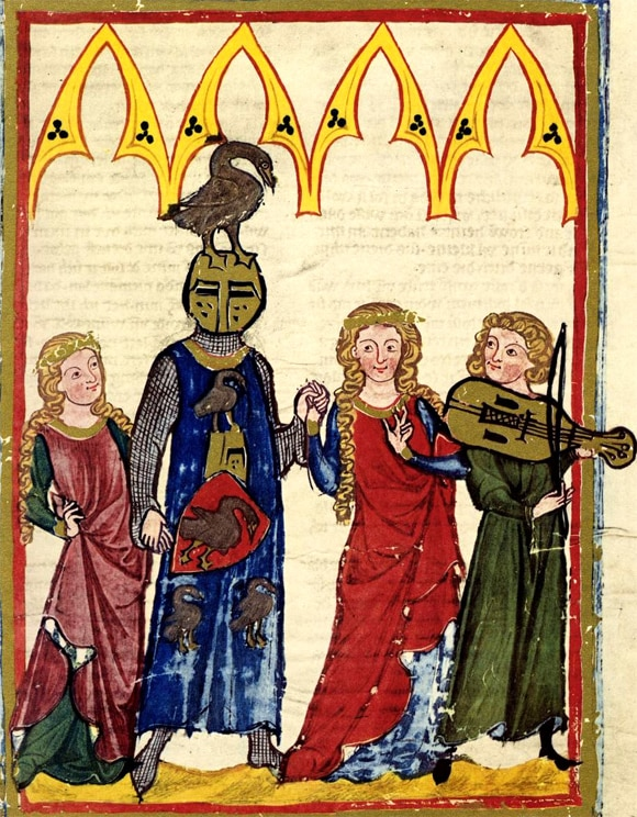 Codex Manesse, Manuscrit, XIVe siècle.