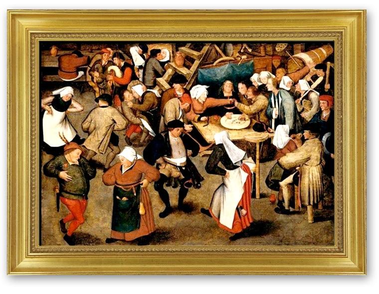 Pieter Brueghel le Jeune, Les noces villageoises, (1564-1638).