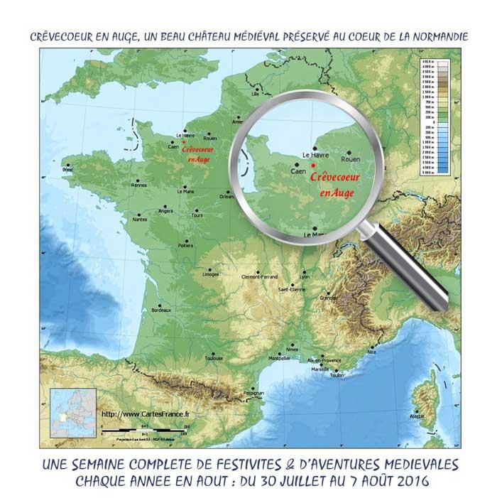 Non loin de Caen et au coeur de la Normandie, une semaine de réjouissance, de fêtes et de reconstitutions historiques et médiévales