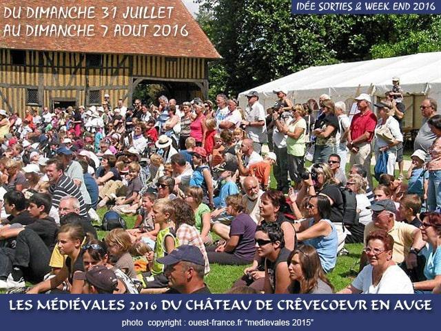 idee_sortie_week_end_fetes_festivals_monde_medieval_crevecoeur_en_auge_chateau_normand