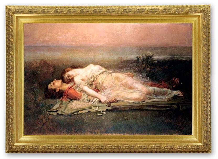 Les amours impossibles et contrariées de Tristan et Yseult par Rogelio de Egusquiza y Barrena (XIXe siècle)