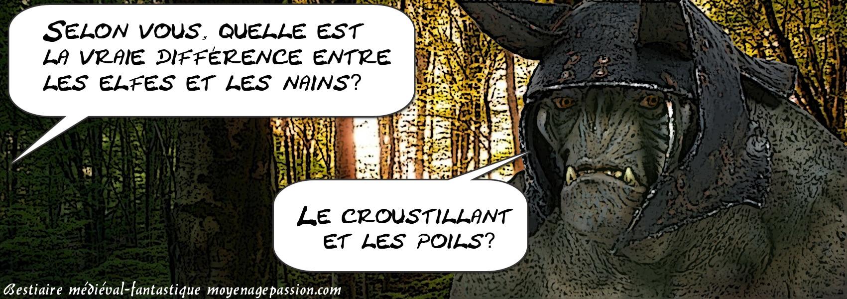 bestiaire_medieval_fantastique_tolkien_terre_du_milieu_elfes_nains_la_difference
