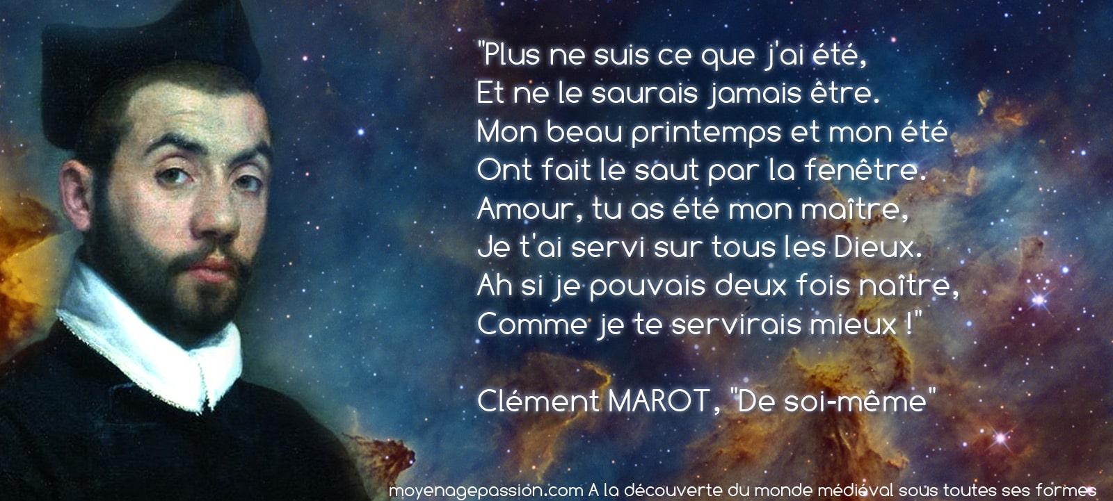 posie_medievale_clement_marot_de_soi_meme