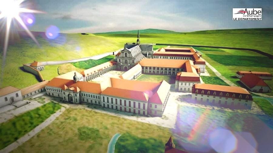 Un vidéo-documentaire très sourcé sur la grande abbaye de Clairvaux à travers les âges