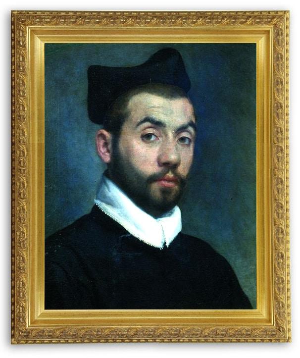"""""""Portrait of a man"""", portrait supposé de Clément MAROT Giovanni Battista Moroni (1520-1587)"""