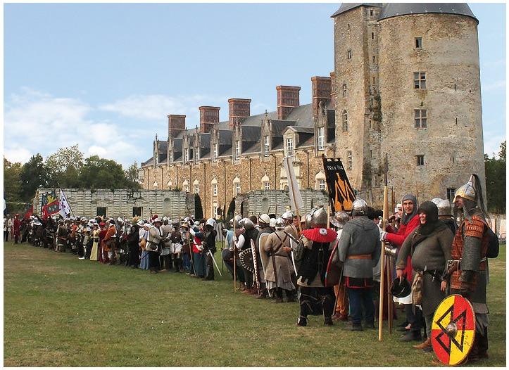 Un grand rassemblement médiéval en Loire Atlantique depuis plus de 15 ans