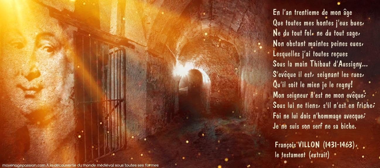 poesie_medievale_francois_villon_michel_meaulnes_le_testament_revisite