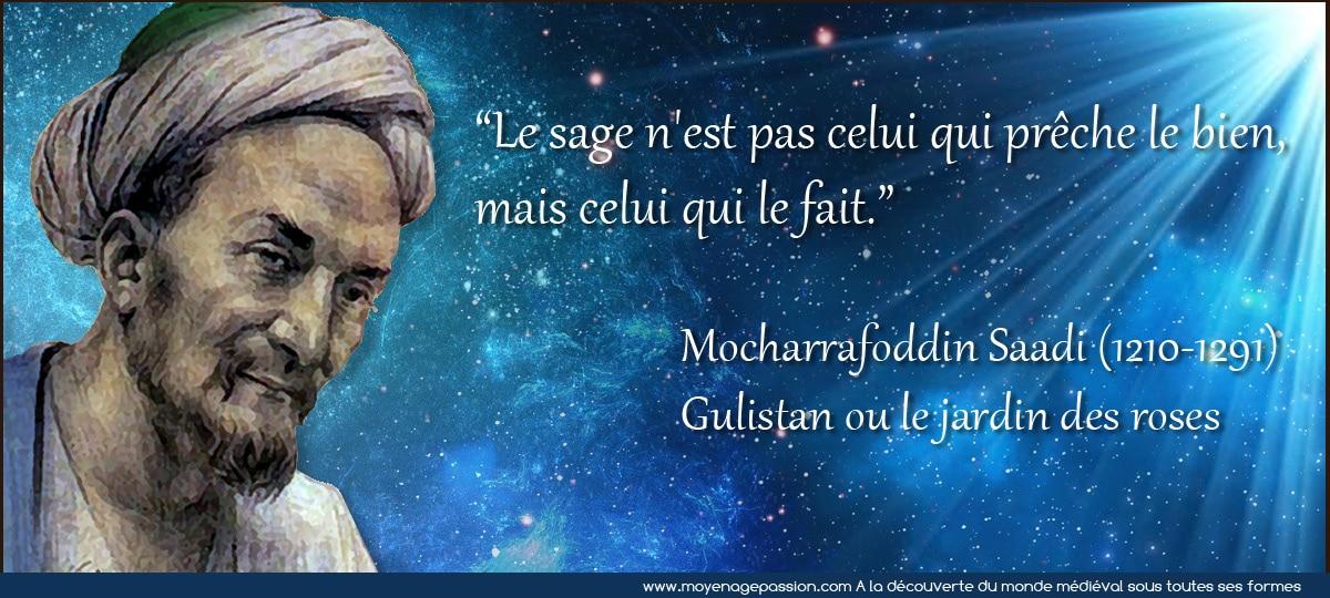 La parole l acte et la sagesse m di vale du grand po te saadi moyen ge pa - Construire sa cite medievale ...