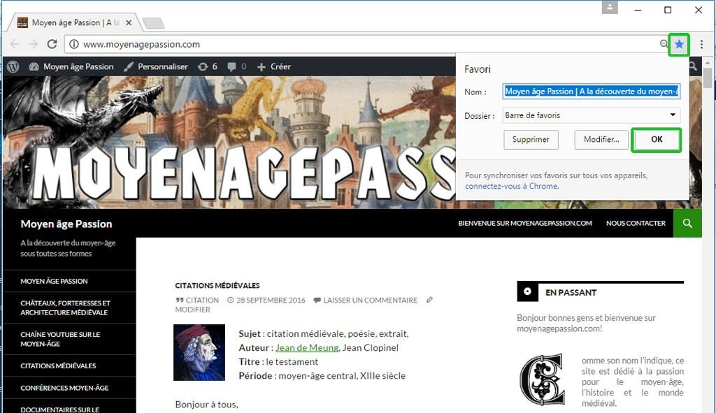 site_web_passion_moyen-age_monde_medieval_favoris_google_chrome