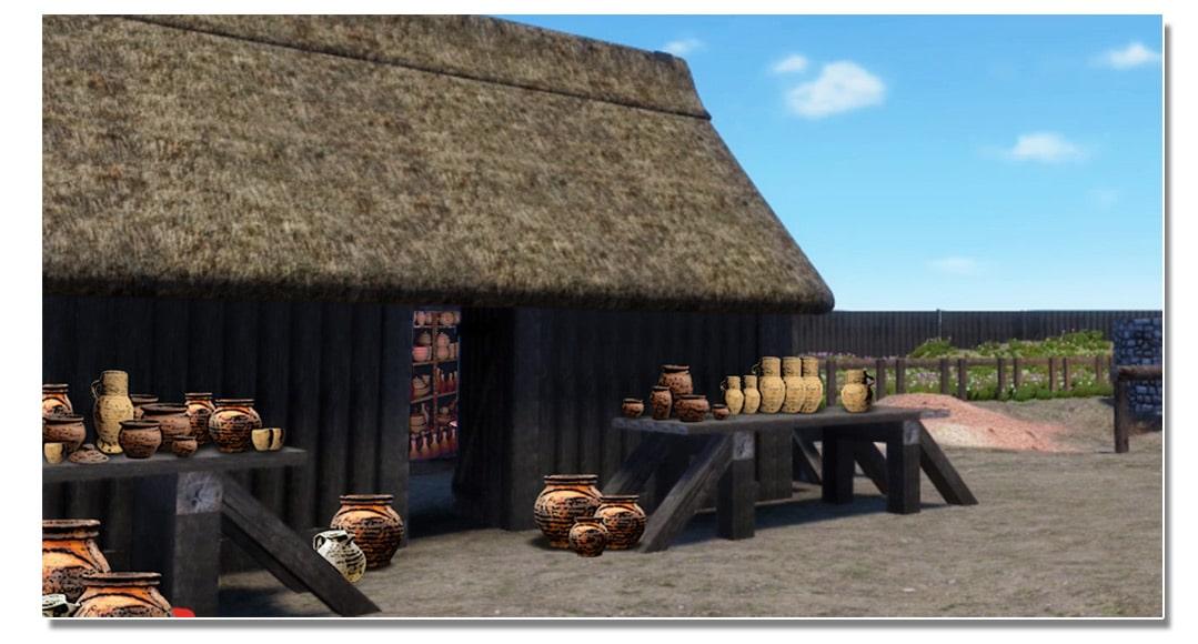 video_mottes_castrales_artisanat_poterie_medieval_vie_moyen-age