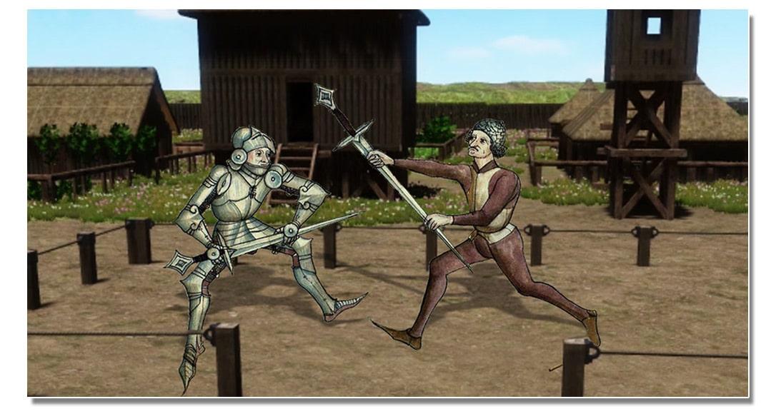 video_mottes_castrales_justice_monde_medieval_duel_judiciaire_vie_moyen-age