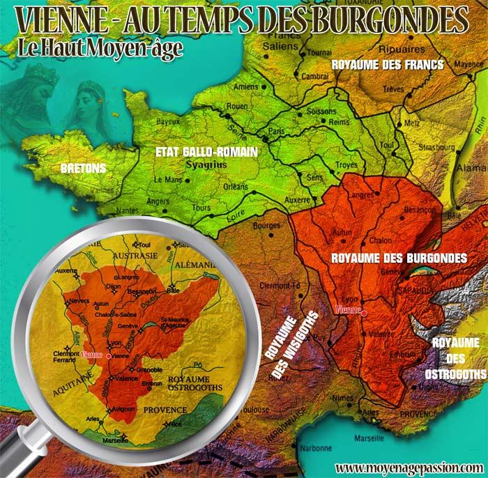 La France mérovingienne du Ve siècle