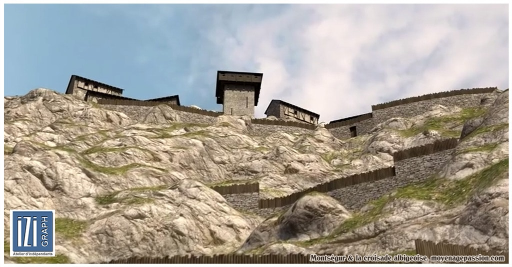 croisade_cathare_albigeois_languedoc_inquisition_montsegur_reconstitution_3D_chateau_fort_002