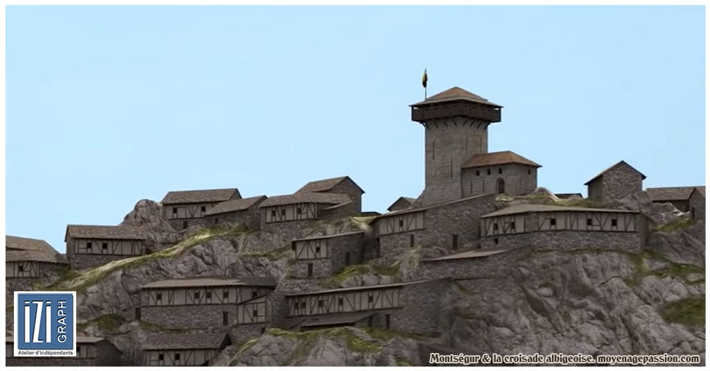 croisade_cathare_albigeois_languedoc_inquisition_montsegur_reconstitution_3D_chateau_fort_006