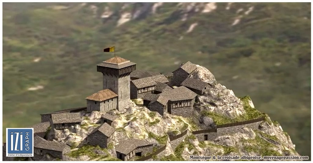 croisade_cathare_albigeois_languedoc_inquisition_montsegur_reconstitution_3D_chateau_fort_007