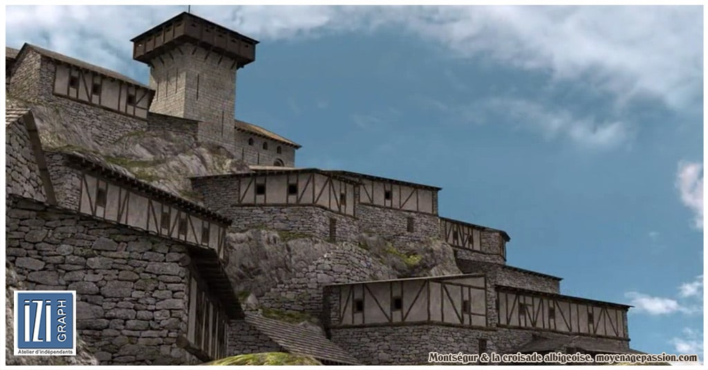 croisade_cathare_albigeois_languedoc_inquisition_montsegur_reconstitution_3D_chateau_fort_008