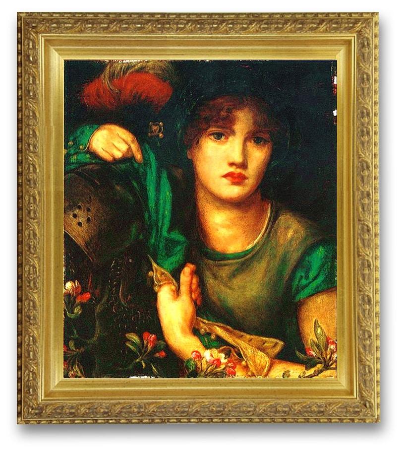 musique_ancienne_folk_anglais_renaissance_fin_moyen-age_lady_greensleeves_Dante_Gabriel_Rossetti