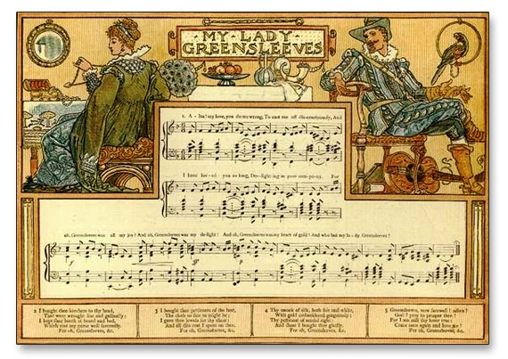 musique_chanson_ancienne_renaissance_histoire_folk_anglais_greensleeves