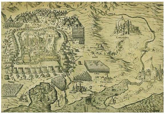 Au milieu du XVe siècle, le siège de Perpignan par les armées de Louis XI