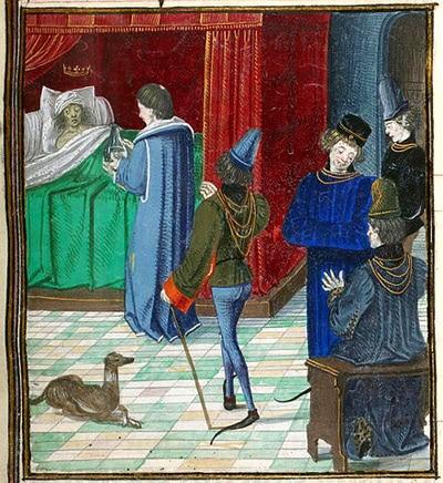 poesie_medievale_eustache_deschamps_morel_charles_VI_folie_moyen-age_ballade_de_moralité
