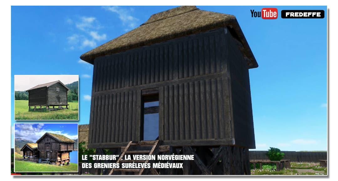 video_mottes_castrales_basse_cour_grenier_silo_sureleve_moyen-age