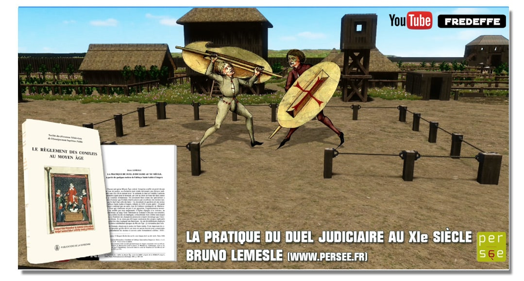 video_mottes_castrales_chateau_fort_justice_medievale_duel_judiciaire_moyen-age