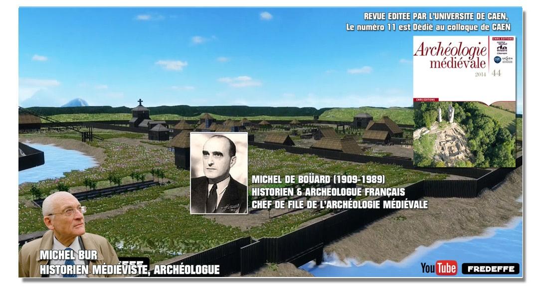 Des références à l'incontournable Archéologie médiévale avec Michel Bur, Michel de Boüard, Eugène Viollet le Duc