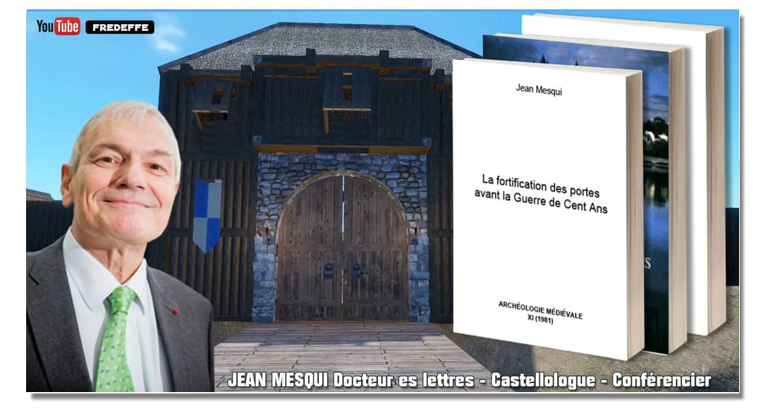 video_mottes_castrales_medievales_chateau_fort_ancien_jean_mesqui_fortifications_portes