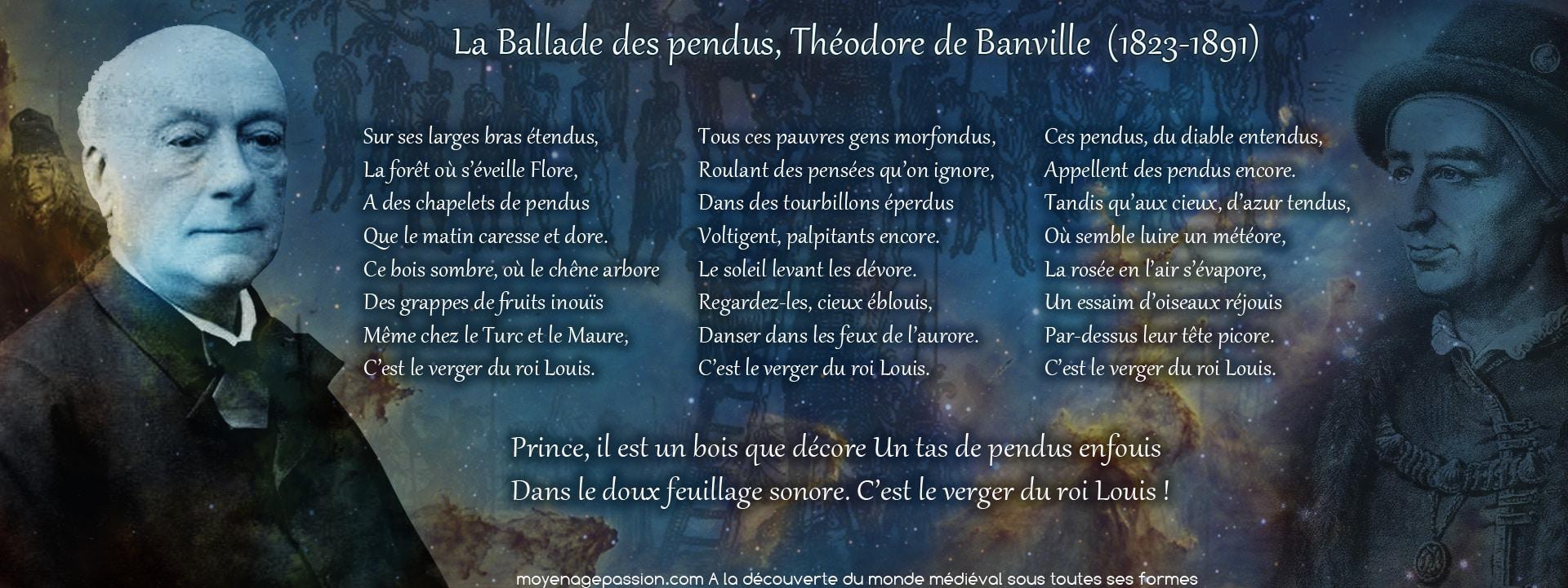 ballade_medievale_poesie_moyen-age_louis_XI_theodore_de_banville_gringoire_francois_villon_ballade_des_pendus