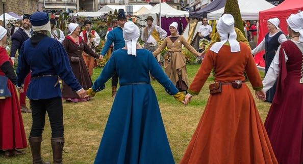 Les danses du haut moyen-âge et de la renaissance avec la compagnie de la Volte Gallarde