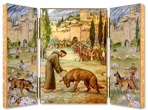 frere_lubin_etymologie_medievale_franciscain_saint_francois_assise_legende_loup_de_gubbio